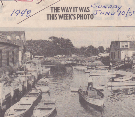 The Way It Was - 1948 - PBBA Member in Row Boat